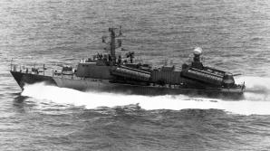 Soviet era Osa class missile boat
