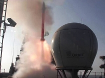 Test firing the Barak-8 LRSAM