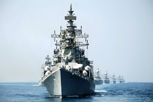 The Indian Navy's Eastern Fleet was moved to the Arabian Sea during the Kargil War