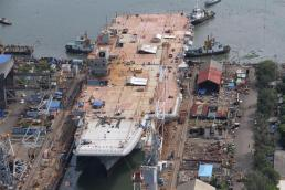 The new INS Vikrant will be ready by 2018
