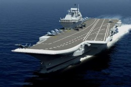 CGI of the new INS Vikrant