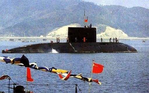 Kilo class submarine of the PLAN