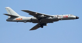 Xian H-6K bombers have been modernized to carry anti-ship missiles.