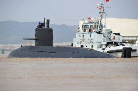 Yuan class submarine of the PLAN