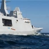Firing MU90 torpedo
