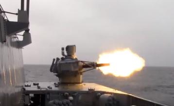 Palma CIWS firing