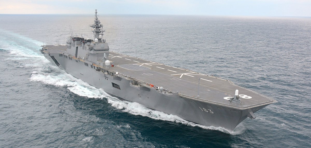 The Japanese Izumo-Class: An Aircraft Carrier in Disguise?