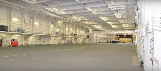 Izumo hangar