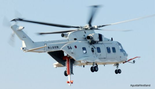 MCH-101 Mine Countermeasures Helicopter