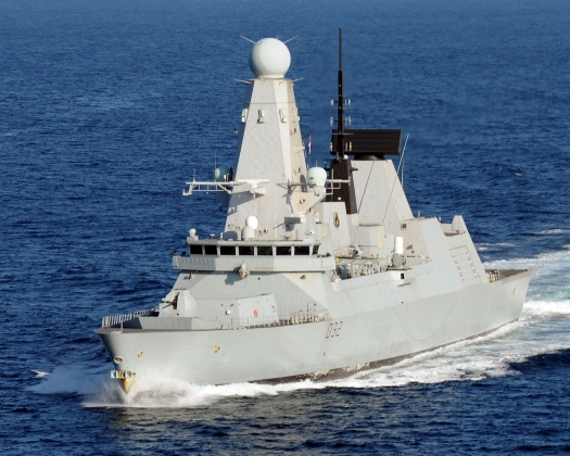Royal Navy Type 45 destroyer HMS Daring