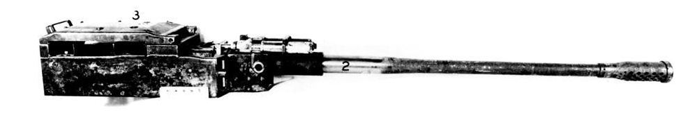 Mauser Mk 214A 50mm cannon.