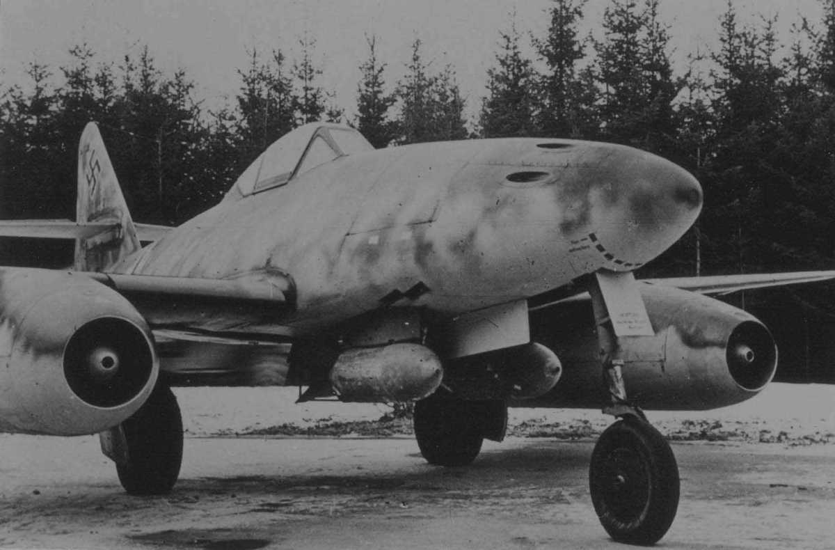 Entering A New Age: Germany's Stormbird - The Me 262