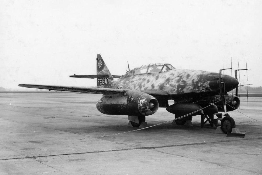 Me262B-1 night fighter